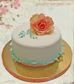 Торт в стиле Шебби шик