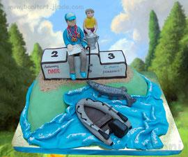 Торт для спортсмена-рыболова