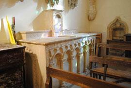 Autel de la chapelle Saint Antoine