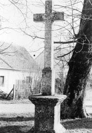 Ancienne croix de 1853