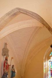 Croisée d'ogives Chapelle Saint Antoine