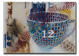 "Thomas Girbl ""Cup to go"" 70x50cm 2014"