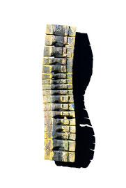 """Thomas Girbl """"Wavelength 105"""" 25x105cm 2015"""