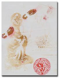 """Thomas Girbl """"Wertvoll"""" 120x160cm 2014"""