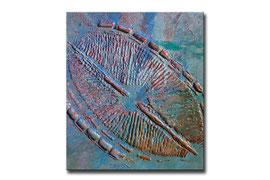 "Thomas Girbl ""diatom blue"" 38x44,5cm 2009"