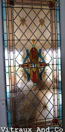 Restauration de vitraux à Bordeaux - Après