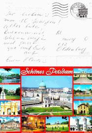 """Geburtstagsgrüße sogar aus Potsdam von unser """"Ex"""""""