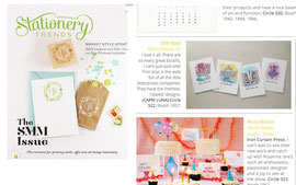 2014 Spring Stationery Trends -featured Capri Luna's Fountains of Rome series