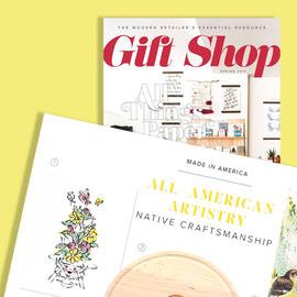 2017 Spring - Gift Shop magazine - Art Print