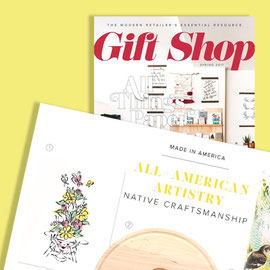 2017 Spring - Gift Shop magazine - Art Print