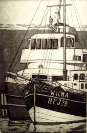 Hafenfähre Altenwerder  (10x15)