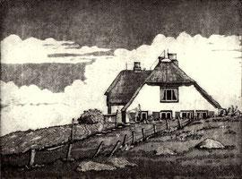 Haus auf Hooge  (15x20)