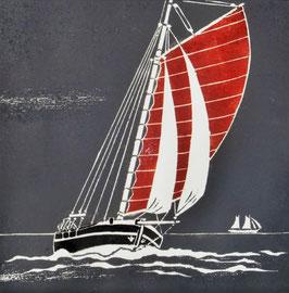 hart am Wind  (30x30)