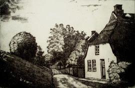 Haus hinterm Deich  (10x15)