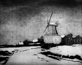 Windmühle  (20x25)