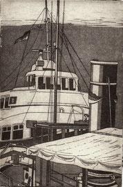 Hafenfähre Bergedorf  (10x15)