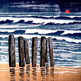 Nordseewellen  (30x30)