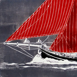 rote Segel  (30x30)