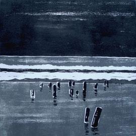 Winterküste  (30x30)