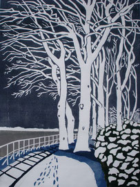 Winterelbe  (30x40)