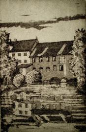 Wassermühle Wedel  (15x20)