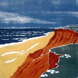 Rotes Kliff  (30x30)