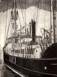 Feuerschiff Elbe 3  (15x20)
