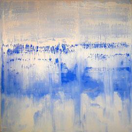 """Som"" - Oil on canvas - 150 x 150 cm"