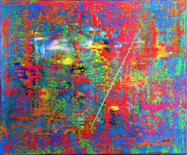 """""""Sinfonie"""" - Oil on canvas - 100 x 120 cm"""