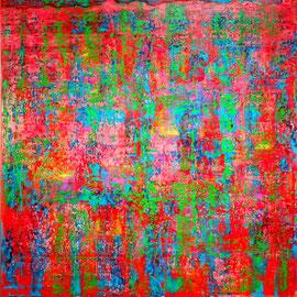 """Allegro"" - Oil on canvas - 150 x 150 cm"