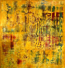 """Metamorphoses"" - Oil on canvas - 150 x 150 cm"
