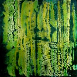 """""""Toccata"""" - Oil on canvas - 150 x 150 cm"""