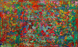 """Belcanto 2"" - Oil on canvas - 60 x 100 cm"