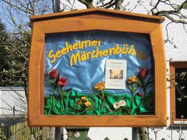Der Schaukasten im Frühling 2014.