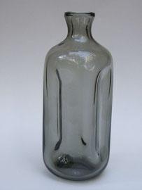 Vase, Süssmuth. 19Cm h. Rauchglas