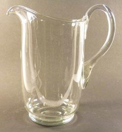 Krug, Süssmuth 23cm h. Farbloses Kristallglas