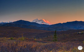 "Bild: ""Denali at sunset time"", Denali NP; www.2u-pitureworld.de"
