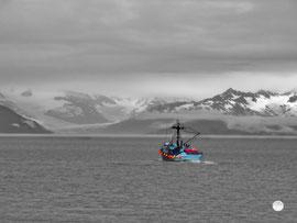 """Bild: Golf von Alaska, Fischerboot, 2u-pictureworld.de,  """"auf Fang"""", www.2u-pictureworld.de"""