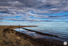 "Bild: Beaufort Sea, Prudhoe Bay, Alaska, ""the end of the world""; www.2u-pictureworld.de"