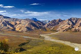 "Bild: the Alaska Range, Denali NP, Alaska, ""Alaska Range"", www.2u-pictureworld.de"