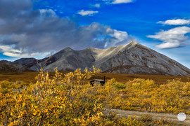 "Bild: Galbraith, Dalton Highway, Alaska, ""golden Galbraith""; www.2u-pictureworld.de"