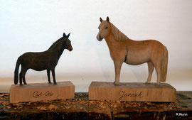Auftragsarbeit - Pferde Skulpturen