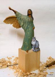 Engel Torita m. Katze