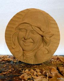 Auftragsarbeit - Portrait Relief