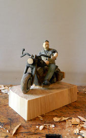 Harley Fahrer - Biker