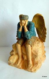 Auftragsarbeit - Engel aus Holz