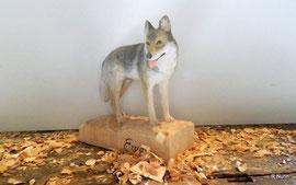 Auftragsarbeit - Wolfshund