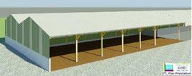 Bâtiment de stockage de fourrage (Calvados 14)