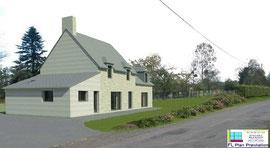 Rénovation d'une maison en pierre (Sud-Manche 50)
