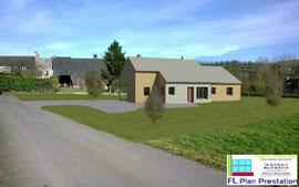 Maison à ossature bois (Orne 61)